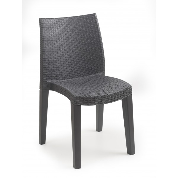 Chaise empilable lydie eurotex for Ikea chaises pliantes et empilables