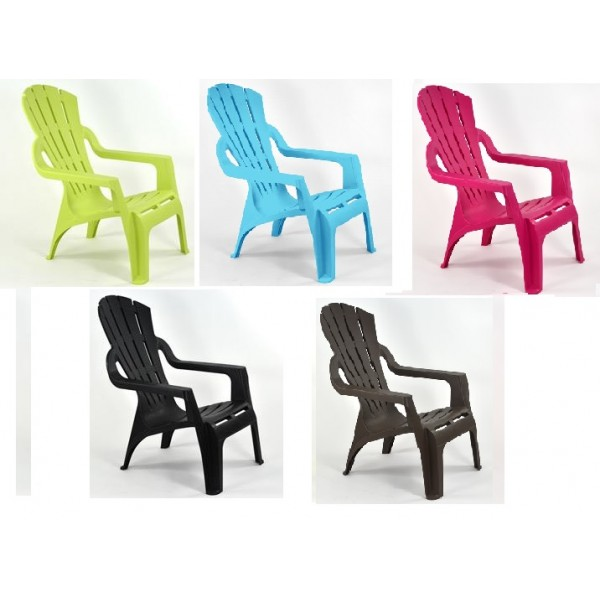 Fauteuil Venice Beach empilable Eurotex